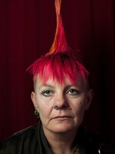 Muir Vidler, 'Debbie Dogbite, London ', 2014