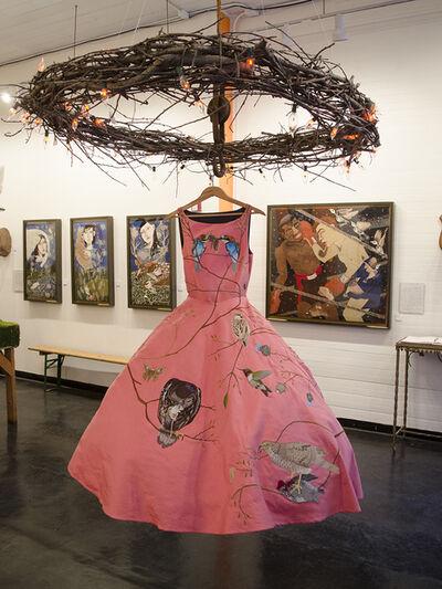 Chris Roberts-Antieau, 'Birds of Prey Dress - Pink', 2014