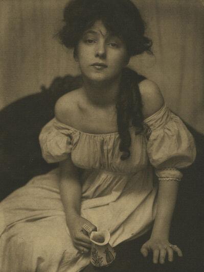 "Gertrude Käsebier, '""Portrait Miss N.""', 1903"