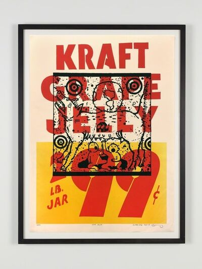 David Wojnarowicz, 'True Myth (Kraft Grape Jelly)', 1983
