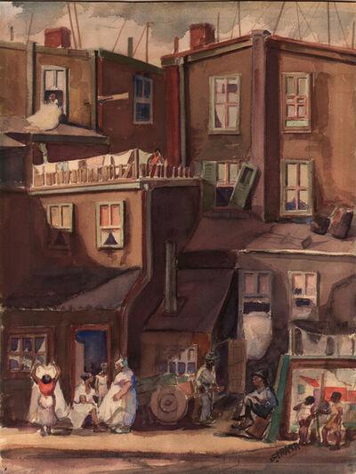 Dox Thrash, 'City Plevins', ca. 1940