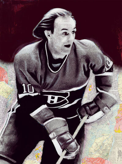 André Monet​, 'Guy Lafleur ', 2019