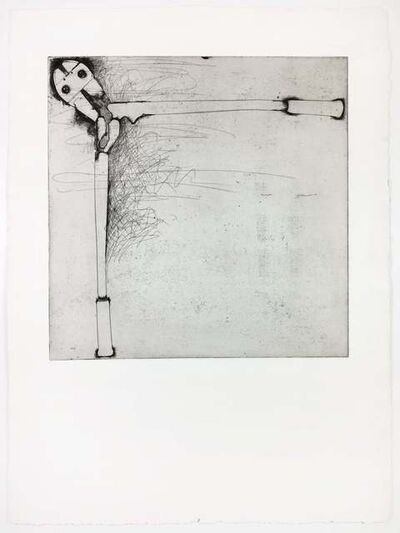 Jim Dine, ' Bolt Cutters (first state)', 1972