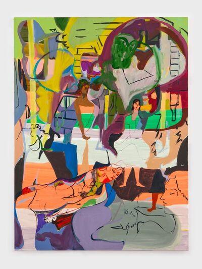 Jackie Gendel, 'Tete-a-Tete-a-Tete', 2012