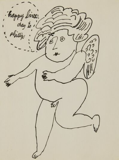 Andy Warhol, 'Angel (Happy Birthday to Phillip)', circa 1995