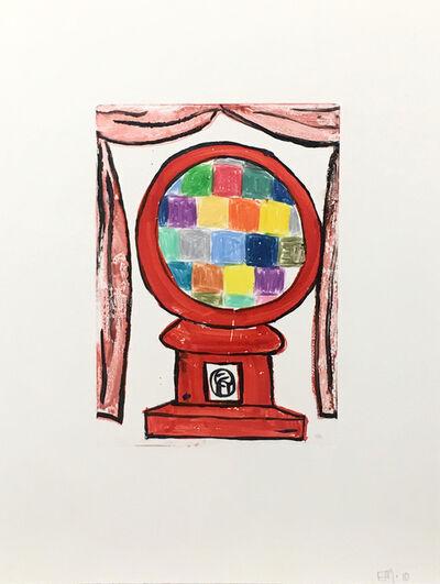 Eddie Martinez, 'Gumball Machine 2', 2010