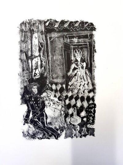 "Antoni Clavé, 'Original Lithograph ""Pushkin's Queen of Spade II"" by Antoni Clavé', 1946"