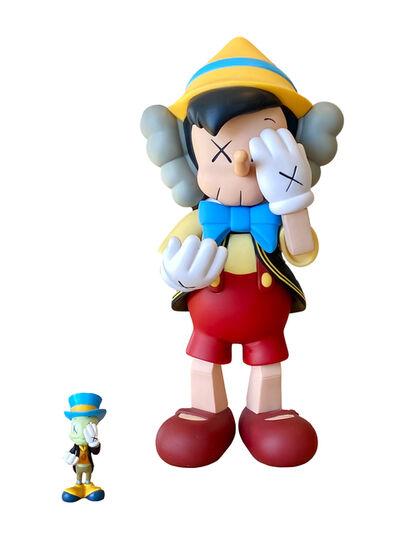 KAWS, 'Pinocchio and Jiminy Cricket', 2010