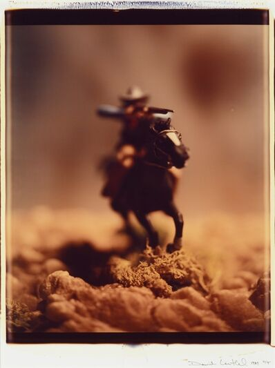 David Levinthal, 'Wild West #10, 4/5', 1989