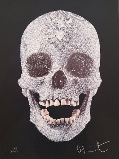 Damien Hirst, 'For The Love Of God - Diamond Encrusted Screen print', 2007