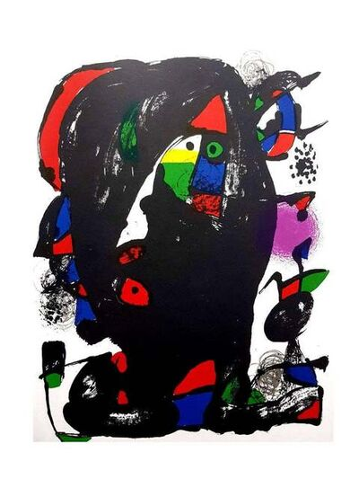 Joan Miró, 'Joan Miro - Original Abstract Lithograph', 1981