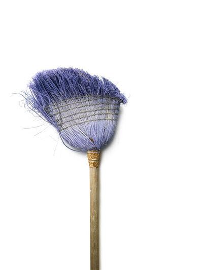 Chuck Ramirez, 'Broom Series:Bleached Lilac', 2007-2011