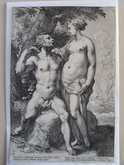 Hendrik Goltzius, 'The Loves of the Gods, a set of three', ca. 1594