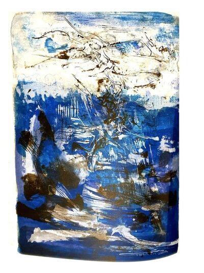 "Zao Wou-Ki 趙無極, 'Original Lithograph ""Abstract Composition"" by Zao Wou-ki', 1962"
