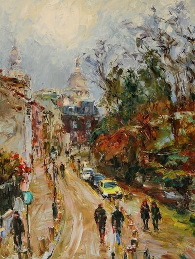 Lyudmila Agrich, 'Montmartre in the Fall', 2018