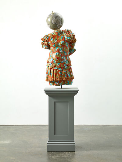 Yinka Shonibare CBE, 'Julio-Claudian, A Marble Torso of Emperor', 2018