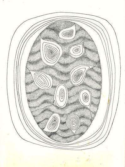 Elda Cerrato, 'Sobre lo que ha de nacer II. Desde poesía de A. Pellegrini', 1972