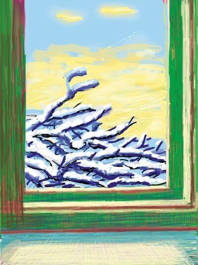 David Hockney, 'iPad Drawing No. 610, 23rd December', 2010-2019