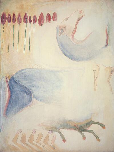 Jo Baer, 'Renvers', 1980