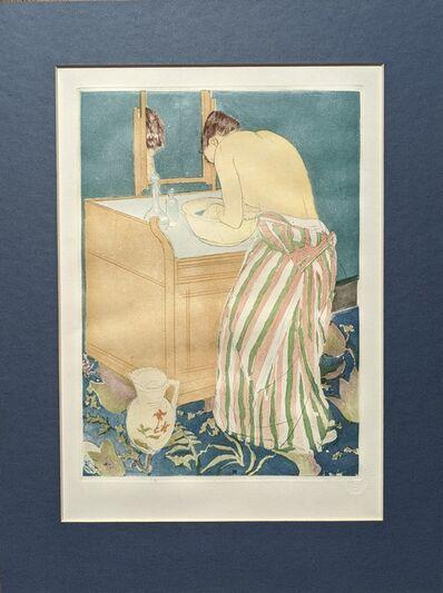 Mary Cassatt, 'Woman Bathing (La Toilette) [Posthumous Commemorative Edition]', 1991