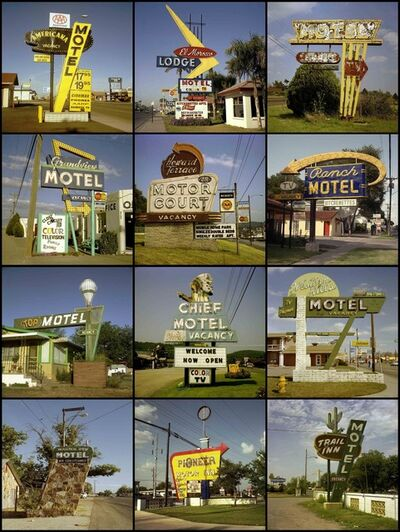 Steve Fitch, 'Motel Signs', 1980-2005