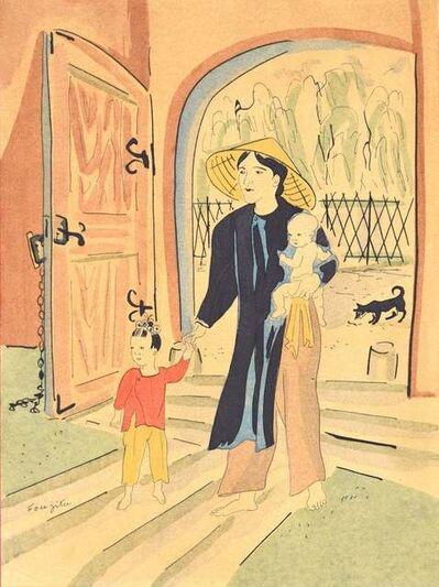 Léonard Tsuguharu Foujita, 'Back Home', 1928