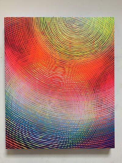 Andrew Schoultz, 'Radiating Spectrum', 2019