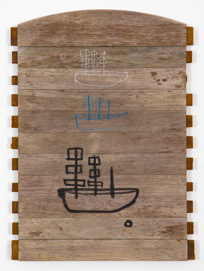 W Tucker, 'ghost boats', 2016