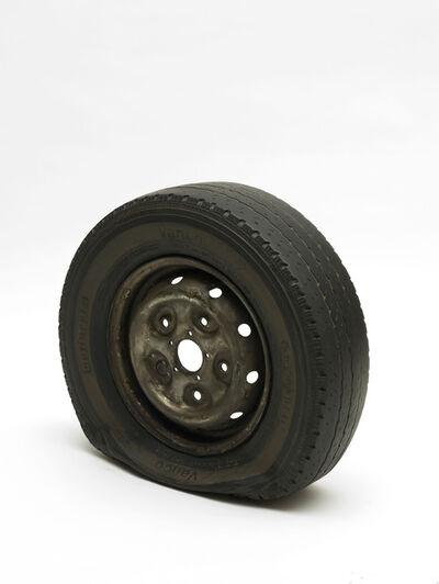 Gavin Turk, 'Flat Tyre', 2013