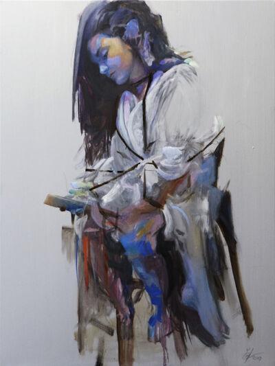 Christopher Lee Gilmer, 'Girl with an iPad', 2019