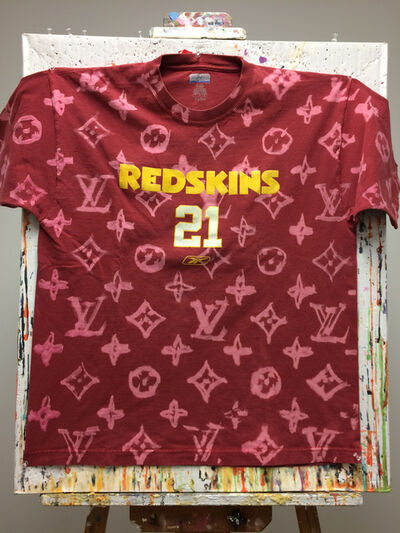 Alfred Steiner, 'LV DIY (Red Redskins T-shirt)', 2016