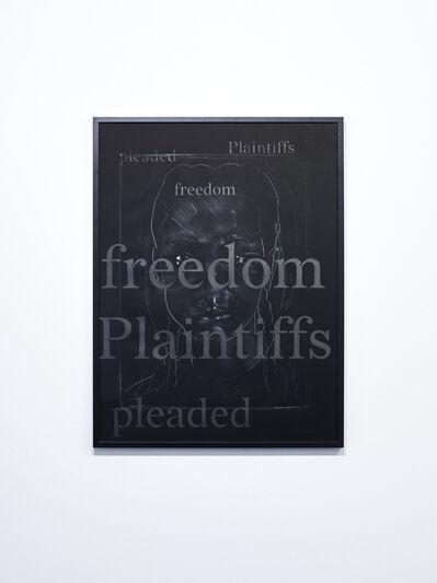 Titus Kaphar, 'The Redaction (Freedom Plaintiffs#2)', 2019