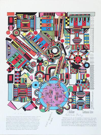 Eduardo Paolozzi, 'Turing Series No. 5', 2000