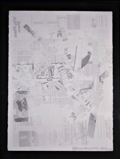 Robert Rauschenberg, 'Hommage to Picasso', 1973