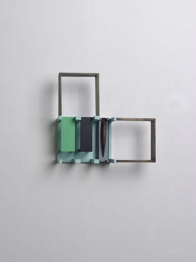 Nahum Tevet, 'Periscope (with Light Blue and Grey)', 2012