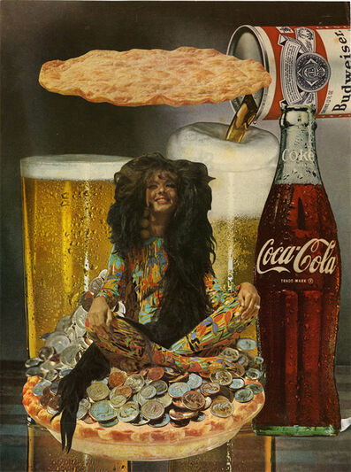 Jean Conner, 'FOOD LEVITATION', 1981