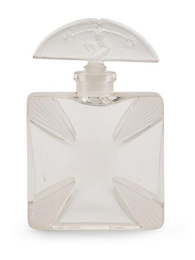 """Lalique, 'Rare """"Croix Saint Georges"""" perfume bottle', des. 1914"""