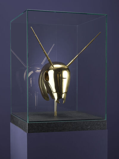 Jan Fabre, 'Golden Helmet for Sanguis/Mantis', 2019