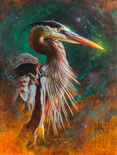 Jess Wathen, 'Heron', ca. 2019