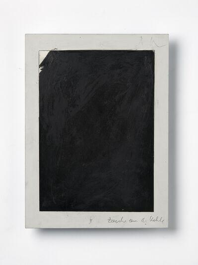 Arnulf Rainer, 'Zacke an der Kehle', 1973-1976