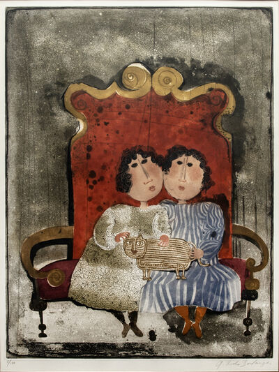 Graciela Rodo Boulanger, 'Two Females on Chair', Unknown