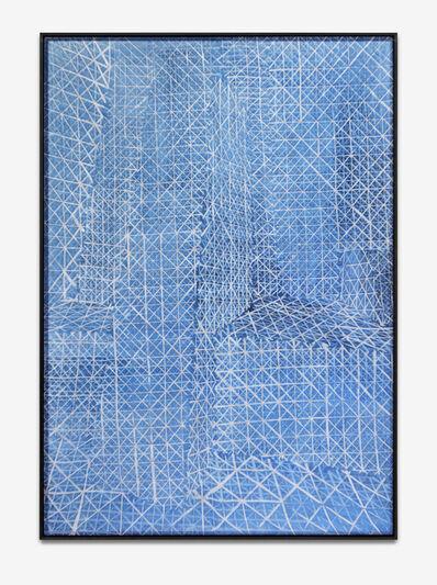 Shannon Bool, 'Cobalt Wotruba', 2018