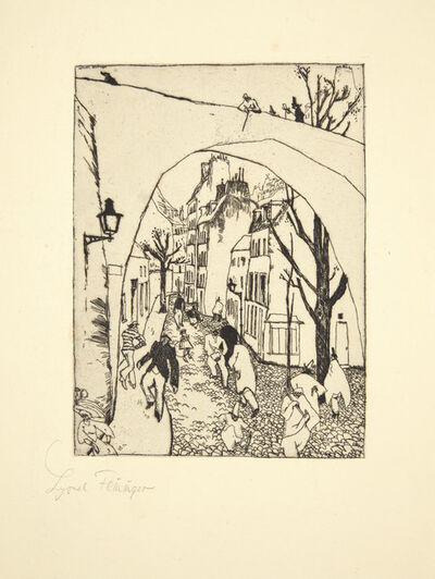 Lyonel Feininger, 'Die Grüne Brücke (The Green Bridge)', 1910-11
