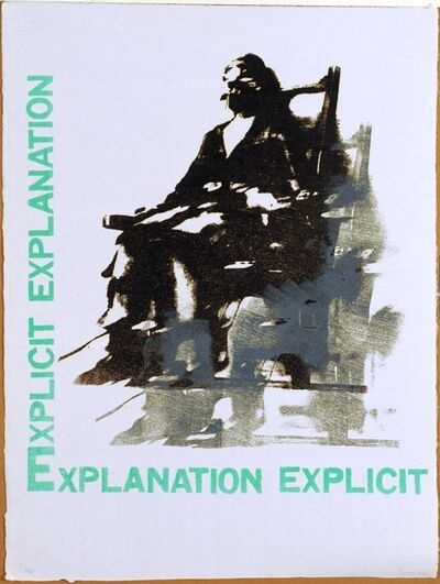 Nancy Spero, 'Explicit Explanation', 1998