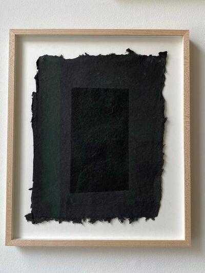 Amy Hilton, 'Black through black', 2018