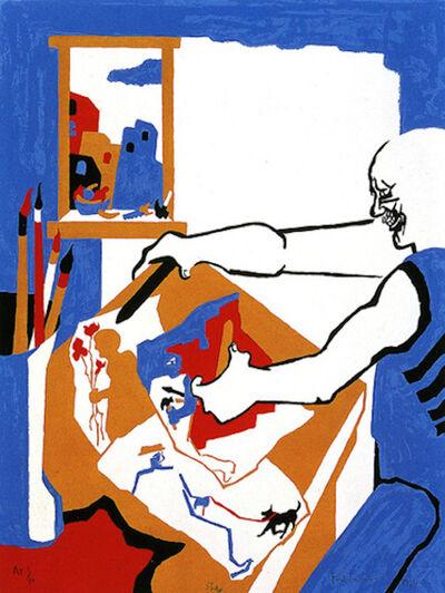 Jacob Lawrence, 'Artist in Studio', 1994