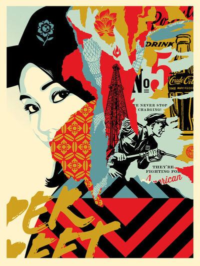 Shepard Fairey, 'Drink Crude Oil', 2017