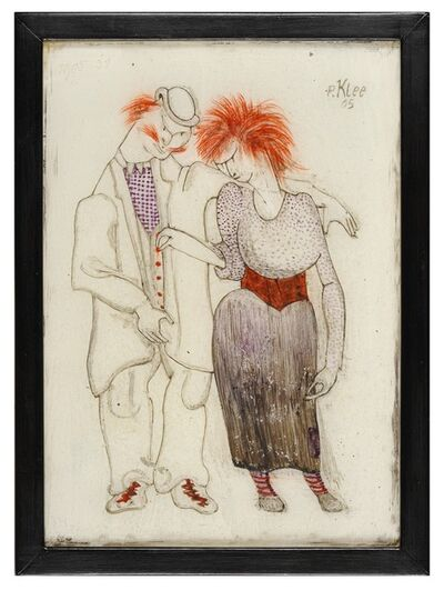 Paul Klee, 'Couple Mauvais Genre ', 1905