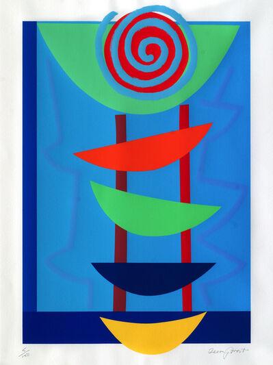 Sir Terry Frost, 'Orange, Green and Blue Rhythm [Kemp 234]', 2002