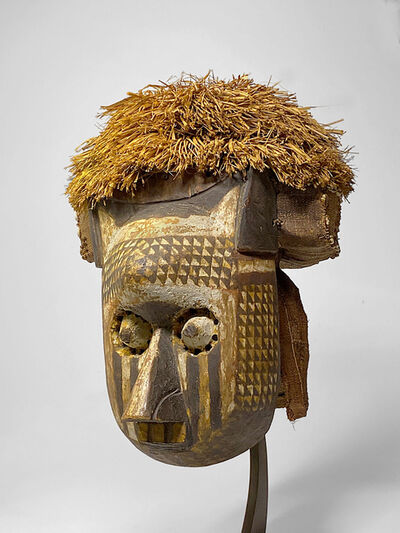 """Unknown Artist, 'Kete """"Itok"""" Ngeende Mask, Democratic Republic of the Congo, Unknown', Early 20th Century"""